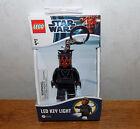 Lego Star Wars Darth Maul LED Key Light Chain  BRAND NEW!