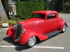 1934 Ford 3 window coupe  1934 Ford 3 Window Coupe Original Henry Ford Steel body Chopped 2 inches