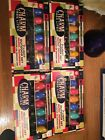 Vintage 50-60's Charm Christmas String Tree Lites Lot of 2 Boxes 7 in each NOS