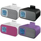 iHome Wireless Bluetooth Wake Sleep Battery Backup Digital Alarm Clock - IBT22