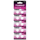 10pk Tinko 1.5V Alkaline Watch Batteries 626A AG4 BA CX626 CX66W D377 G4A G4A177