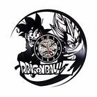 Art Wall Clock Home Decor Dragon Ball Z DBZ Son Goku Vinyl Record Vintage Room A
