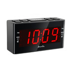 DreamSky Dual Alarms Clock Radio With AM/FM Radio And Large Number Display