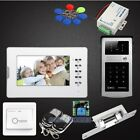 """7"""" Video Door Entry Call System with Keyfobs Password Keypad for Home Security"""