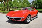 1969 Chevrolet Corvette 427/390hp Numbers Matching 4-Speed T-Tops 4-Wheel Disc Brakes Power Steering Mostly Original Paint