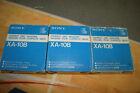 Sony XA-10B 10 Disc Magazine Auto-Changer Lot of 3 CDP-C90ES, CDP-C100, CDP-C910