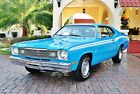 1973 Plymouth Duster 340 Broadcast Sheet Low Miles Factory A/C Factory A/C Beileved  21k Original Miles Power Steering & Brakes spectacular