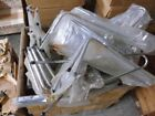 "Lot of 10 Round Tube 24"" Sissy Bars from the 1970's"