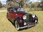 1952 Rolls-Royce Wraith  1952 Rolls Royce Silver Wraith