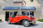 1951 MG T-Series 2-Door 1951 MG TD CONVERTIBLE! RED/BLACK! CALL 561-845-3838 FOR DETAILS!