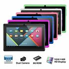 "7"" Tablet PC Quad Core Google Android 4.4 KitKat WIFI 8GB Dual Camera HD Tablet"