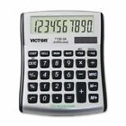 Victor 11003a Mini Desktop Calculator - 10 Character[s] - Lcd - Solar, Battery