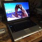 Toshiba Satellite A135-S4447 laptop computer Centrino Duo Windows 7 Gray