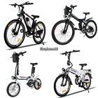 "Folding 36V 250W Portabl 26"" Electric Mountain Bicycle Ebike Power Battery"