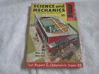 1955 OLDSMOBILE SUPER 88 TEST REPORT MODEL SCIENCE & MECHANICS MAGAZINE OCT 54