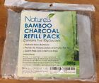 Naturals Bamboo Charcoal Refill Pack Contains 5 50G Sachet For 250g Total