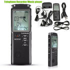 16/8GB Rechargeable Digital Audio Sound Voice Recorder Pen Dictaphone MP3 Player