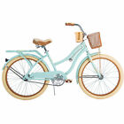 """Huffy 24"""" Nel Lusso Girls' Beach Cruiser Bike With Perfect Fit Frame Bicycle New"""