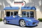 2001 Ferrari 360 Spider F1 2001 FERRARI 360 SPIDER F1! AZZURO MONACO/CREME! DAYTONAS! SHIELDS! LOW MILEAGE!