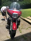 2009 Yamaha Royal Star  Yamaha Royal Star Venture Red Motorcycle (XVS13TFYR)