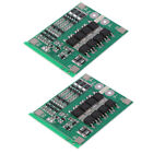 2x PCB Protection Board 3 Series 13V Lithium 18650 Battery Cell BMS Board