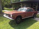 """1966 Ford Mustang Project Car, V8 1966 Ford Mustang Coupe Project Car V8 4 Speed Top Loader 8"""" Rear End 66"""