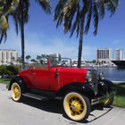 Ford Roadster Complete Nut and Bolt Restoration Florida Vintage 1931 Ford Model A Roadster Classic Antique Car Concours Quality