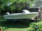 VINTAGE 1963 Aristo-Craft 14' Boat, fins, Restorable