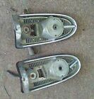 1956 56 Chevy Chevrolet Original Preowned Vintage Taillight housing Pair LH RH