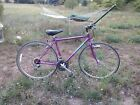 1991 Schwinn Criss Cross bicycle 700c hybrid bike purple