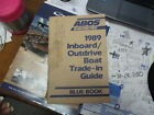 1989 abos inboard/outboard boat trade in guide / blue book