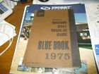 1975 abos inboard boat trade in guide / blue book