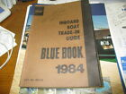 1984 abos inboard boat trade in guide / blue book