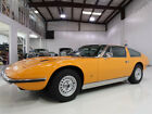 1972 Maserati Coupe Indy 4.7 Coupe, Rare! ZF 5-Speed Manual 1972 Maserati Indy 4.7 Coupe, Known History Since New, Matching Numbers