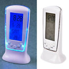 Digital Backlight TBD Display Table Alarm Clock Snooze Thermometer Calendar TB