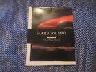 1990 MAZDA MIATA ORIGINAL INTRODUCTION DEALERSHIP DEALER PROMO SALES BROCHURE