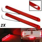 """Pair 17"""" Inch Red 23LED Light Bar Stop Turn Tail 3rd brake Light Truck Trailer"""