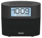 Sound Design iBT231B iHome Bluetooth Dual Alarm FM Clock Radio with Speakerphone