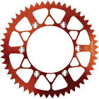 FLY Racing Sprocket Rear 46 ORANGE Fits: Husqvarna TC 250,TE 250,FE 316-46 ORG