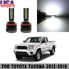 2X Mini COB LED Fog Light For Toyota Tacoma 2012-2018 6000K 40W White Bulbs HOT
