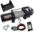 Runva 4500 Lbs Electric 12V ATV UTV Power Tow Winch with Remote Control EWP4500