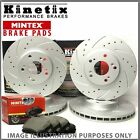 c62 For Audi A6 S6 quattro 14-18 Front Rear Drilled Grooved Brake Discs Pads