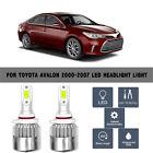 For Toyota Avalon 2000-2007(2)COB LED Headlight Beam Light White Bulbs 6000K