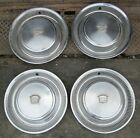 1974 - 1976 Cadillac Deville Hubcap Wheelcover Hubcaps Set of 4 Used 74 75 76