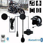 Rechargeable Bluetooth 4.0+EDR Motorcycle Helmet Interphone Music Headset BT8