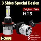 H13 LED Headlight Kit Hi/Lo Beam Bulb for Polaris INDY 550 600 Replace Xenon