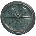 Injection Molded Wheel and Hub-1-pc 10in x 1.75in #110P