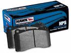 For 2004-2014 Subaru Impreza Brake Pad Set Rear Hawk 86563ZW 2005 2006 2007 2008