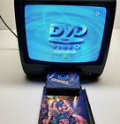 "Magnavox TV/DVD Combo Model CD130MW9 13"" Color SDTV Tuner Gaming No Remote"