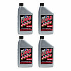 Lucas Oil SAE 20W-50 Performance Trans & Engine Motorcycle Oil, 1 Quart (4 Pack)